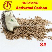 Grain abrasif de coquille de noix concassée pour ébavurage et polissage