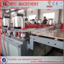 Produire wpc panneau de construction de plancher de porte wpc pvc mousse panneau extrusion machine