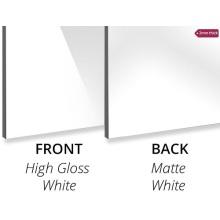 Panel compuesto de aluminio High Gloss White