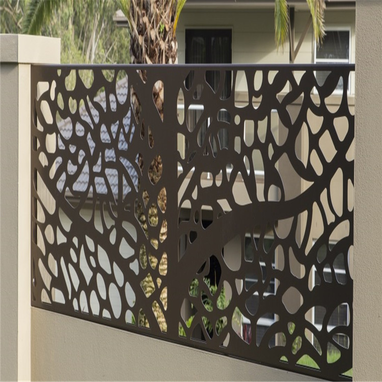 Pantalla Laser Cut Metal Fence