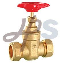 vanne de compression en laiton pour tuyau en cuivre