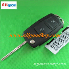 VW flip key shell 2 buttons remote key shell