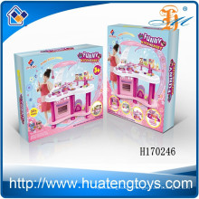 2015 New High quality mini plastic whole toys kitchen play set for kids