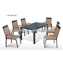 New Style All Weather Polywood Patio Speisesaal