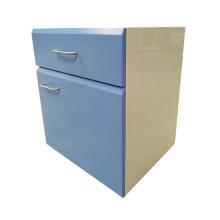 Mobile Metal Hospital Storage Cabinet with Drawer