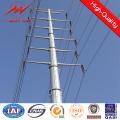 40FT Неа оцинкованная сталь электрический столб