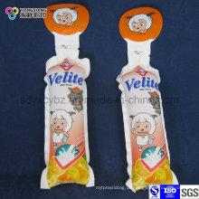 Geformte Plastikverpackungsbeutel für Kinder trinken