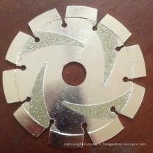 Disque de meulage de diamant de 250mm pour le béton