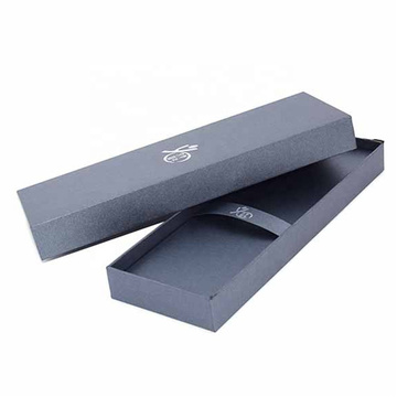 Black Square Karton Gift Pckaging Box Pen