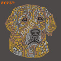 Beautiful Crystal Dog Rhinestone Heat Transfer Designs