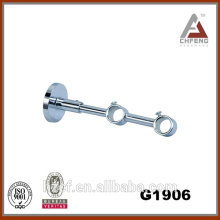 plated curtain rod bracket