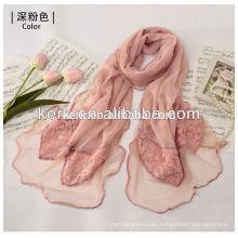 El chal más nuevo del knit de la venta al por mayor de la manera de 2013 calificó el mantón viscosa W3029 del pashmina del mantón del mantón del mantón de la bufanda de los nuevos estilos