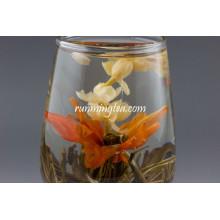 China Jasmin und Lilie Blume Tee, Qiu Shui Yi Ren / Lilie Lady