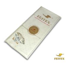 FEITEX Crema de algodón blanco vestidos africanos Guinea brocado ropa Bazin Riche tela de ropa africana Shadda tela
