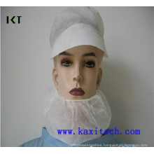 Disposable Non Woven Beard Mask with Double Elastics Kxt-Nbc02