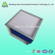 Attractive H13/H14 HEPA box type air filter for HAVC system