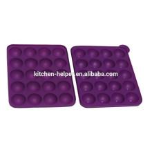 Aprovado pelo FDA Eco-Friendly Top-Selling Food Grade Molde de Silicone para Candy