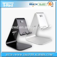 Buen servicio cargador de móvil de alta calidad titular de miro-succión de aleación de aluminio