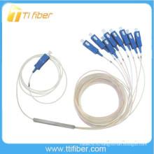1x8 Bare Fiber PLC сплиттер 250um Голые волокна