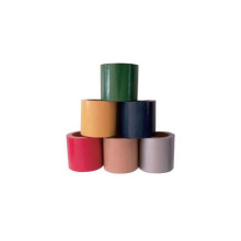 Easy tear cloth acrylic colorful sealing duct tape