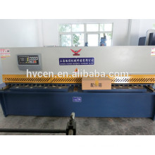 metal plate shearing machine/pendulum plate shearing machine