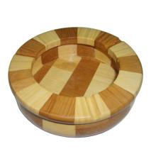 Lot de cendrier en bois 120 rondeurs