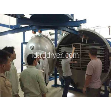Diawetkan Blue Berry Vacuum Drying Machine