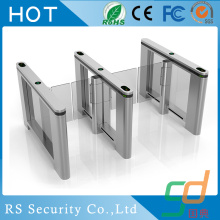 Fingeravtryck Residential RFID Glass Turnstile Door