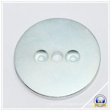 Powerful Round NdFeB Magnets with Three Holes