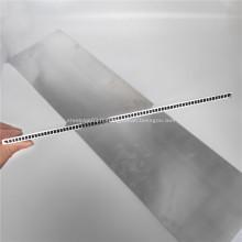 Largeur 100 mm Tubes micro-canaux en aluminium