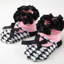 2016 Оптовая прекрасный мягкий 3D необычные Анти-скольжения носки младенца хлопка