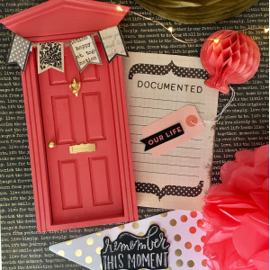 Christmas Fairy Door Kits With Red Color