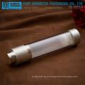 ZB-RB50 50ml limpar garrafas de bomba de plástico giratório sem ar loção camadas dobro