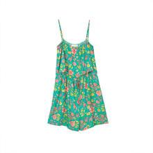 Ärmelloses Kleid mit O-Ausschnitt und Schleifenknoten für Damen