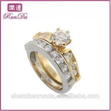 2014 anneaux de bijoux en acier inoxydable en acier de qualité en gros
