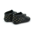 New Designs Popular Cow Leather Moccasins Baby Shoes