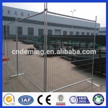 Galvanisierter US-Typ und Kanada Standard-Pulverbeschichtung Temporärer Zaun / abnehmbare tragbare Metall-Zäune