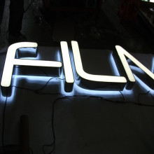 Outdoor Front Reverse Lit LED Channel Letters Signs