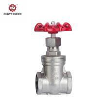 Metal gate valve for fluid