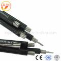 ABC / PVC / XLPE / ACSR / AAAC / AAC / Overhead / Aluminium / Antenne Gebündeltes Kabel