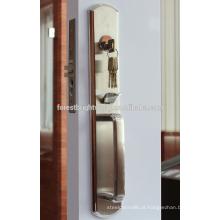 Design de aço inoxidável agradável Mortise Lockset para porta de entrada