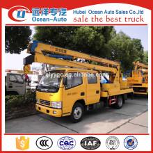 Camión de la operación de la alta altitud de Dongfeng 14Meters para la venta