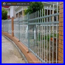DM palisade cerca de aço / cercas de jardim no melhor preço