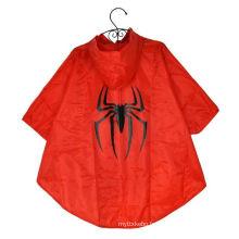 Vêtements de pluie en PVC pour enfants OEM avec capuche