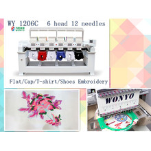 Máquina de bordar Wonyo para bordados têxteis industriais