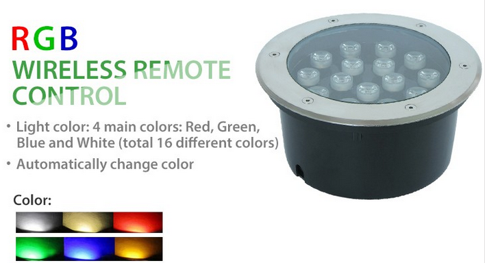 outdoor led inground light