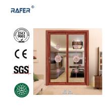 Vende la mejor puerta corrediza de doble hoja (RA-G130)