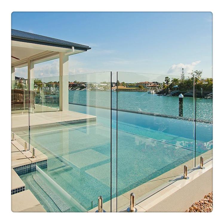 pool fence glass