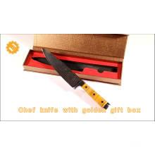 Accessoires de cuisine vg10 chefs couteau en acier au carbone couteaux de gros chine