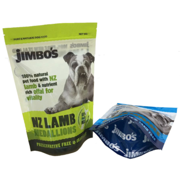 Stand Up Pet Food Pouch